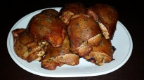 Lemon Herb Smoked Chicken Thighs